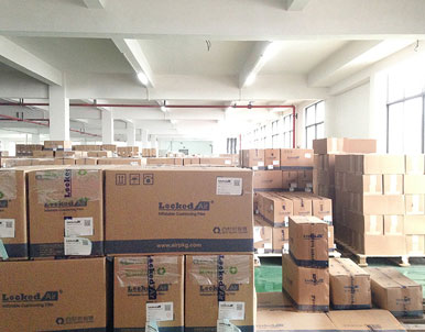 Warehouse of Air Cushion System